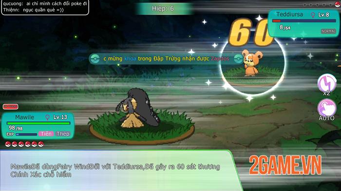 Liên Quân Bảo Bối đích thị là game Pokémon đúng chuẩn bản gốc GAMEBOY 5
