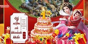 Tam Quốc Vương Giả tung sự kiện Viết lời tri ân nhận quà cực phẩm mừng sinh nhật