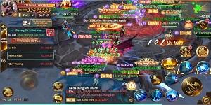 Game thủ Tiên Ma Truyền Kỳ thỏa sức phô diễn kĩ năng ở các chiến trường liên server