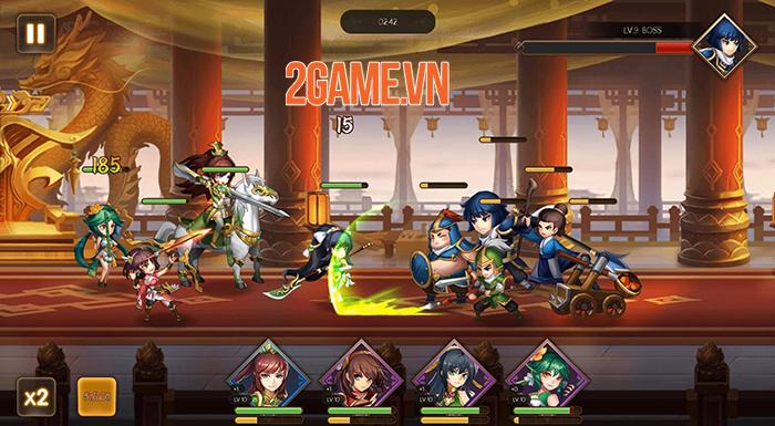 VNG ra mắt game mới Samkok Arena tại Thái Lan 1