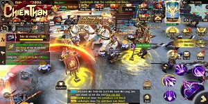 Chiến Thần 3D Mobile chiếm hàng loạt vị trí TOP đầu các BXH sau khi ra mắt