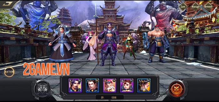 Reign of Three Kingdoms - Game thẻ tướng Tam Quốc cổ điển có nhiều yếu tố mới 0