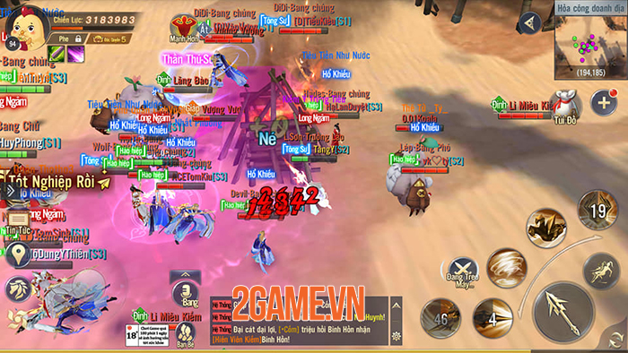 Ngạo Kiếm 3D Mobile và danh xưng game bom tấn kiếm hiệp 5 sao năm 2020 3
