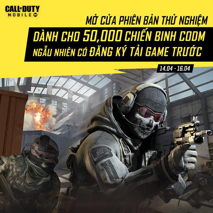 Game thủ Call of Duty: Mobile VN phấn khích khi sắp được chạm tay siêu phẩm 0