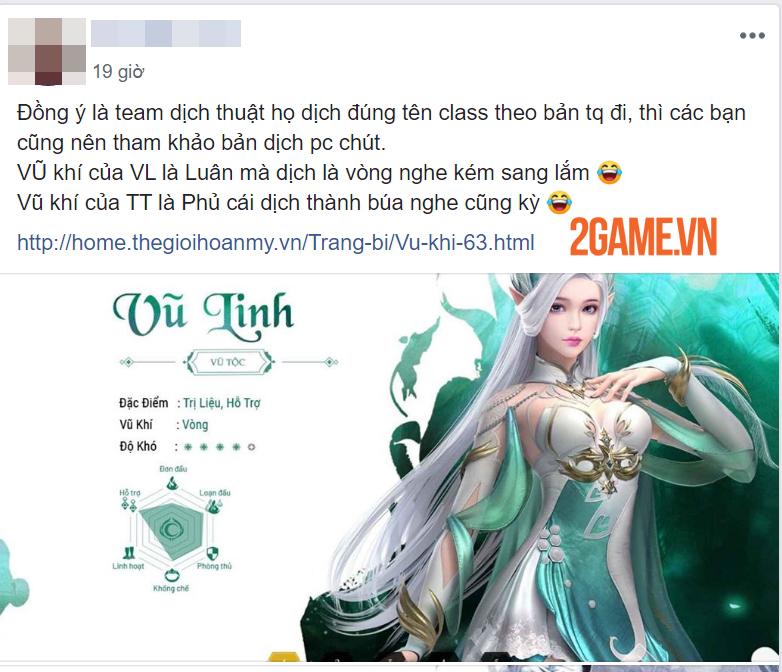 Chưa ra mắt Perfect World VNG đã nhận sự chỉ trích gay gắt về vấn đề Việt hóa 9