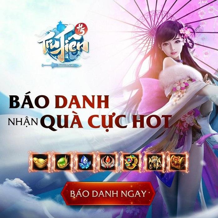 Game tu tiên cày vàng thả ga Tru Tiên H5 ra mắt trang teaser 3