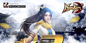 Tặng 444 giftcode game Ngạo Kiếm 3D Mobile
