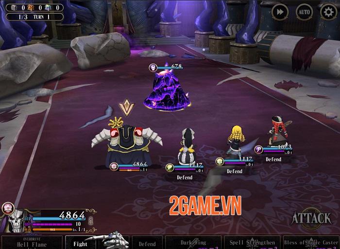 Mass For The Dead - Game mobile phiên bản đầy đủ của anime Overlord 2