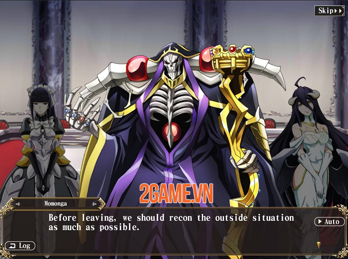 Mass For The Dead - Game mobile phiên bản đầy đủ của anime Overlord 1