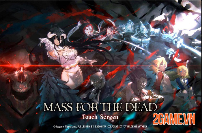 Mass For The Dead - Game mobile phiên bản đầy đủ của anime Overlord 3