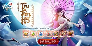 Tặng 555 giftcode game Tru Tiên H5