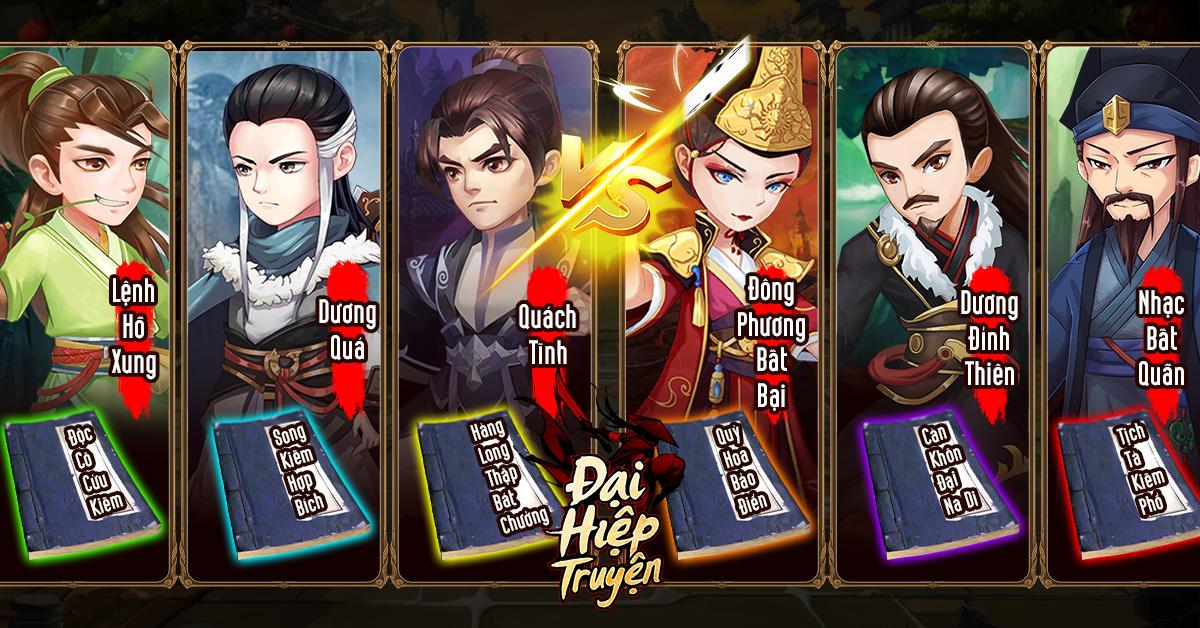 Đại Hiệp Truyện mang đến sự hoàn mỹ nhất cho dòng game đấu thẻ bài 2