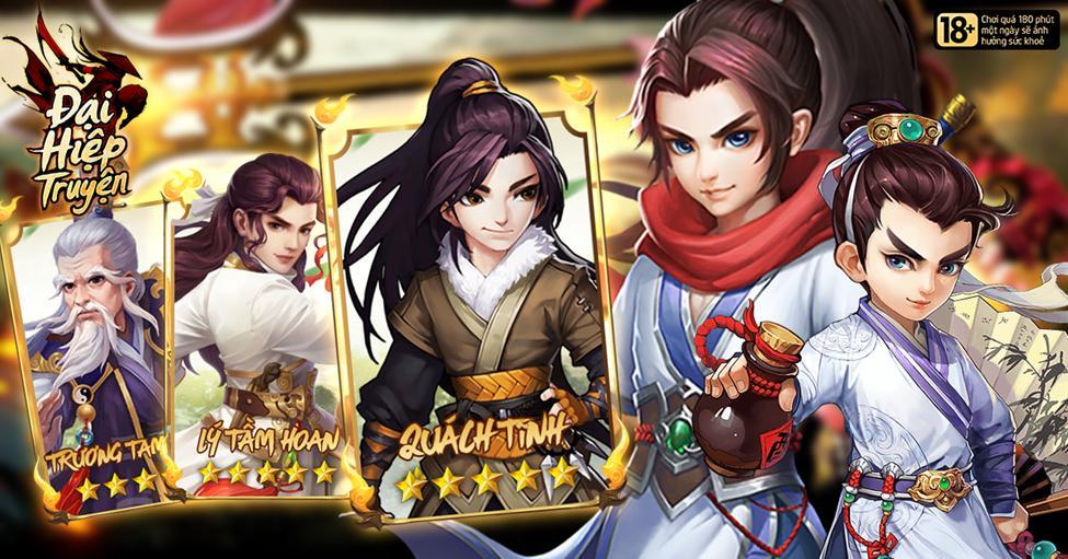 Đại Hiệp Truyện mang đến sự hoàn mỹ nhất cho dòng game đấu thẻ bài 4