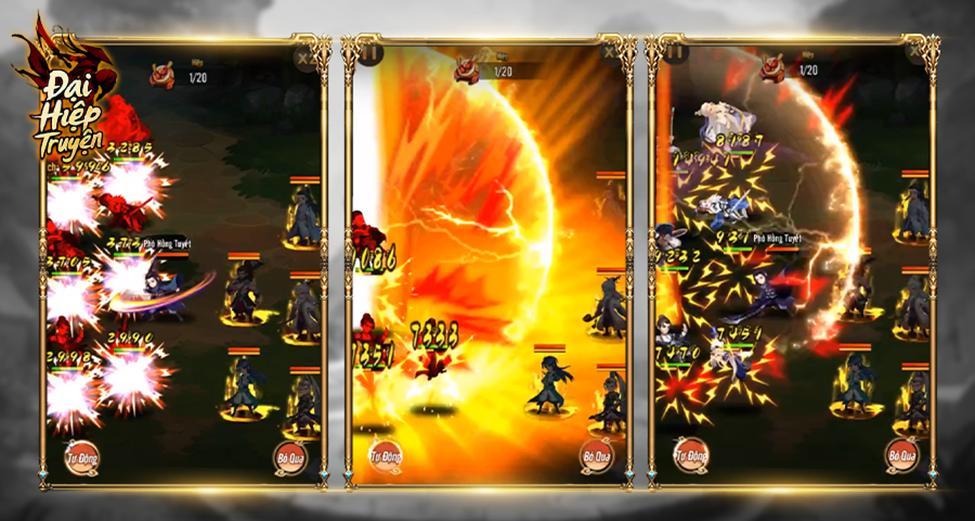 Đại Hiệp Truyện mang đến sự hoàn mỹ nhất cho dòng game đấu thẻ bài 1