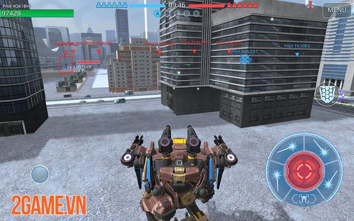 Cảm nhận game War Robots: Cuộc chiến của những chiến binh giáp sắt mạnh mẽ 2