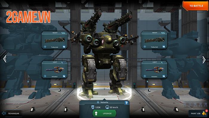 Cảm nhận game War Robots: Cuộc chiến của những chiến binh giáp sắt mạnh mẽ 5