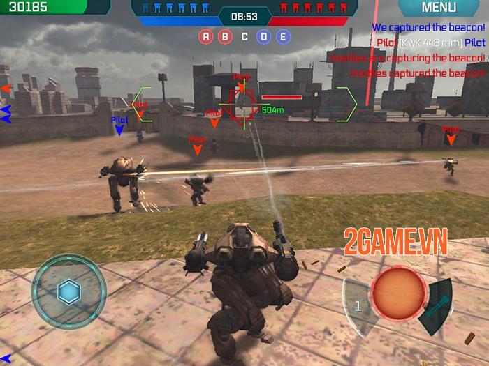 Cảm nhận game War Robots: Cuộc chiến của những chiến binh giáp sắt mạnh mẽ 4