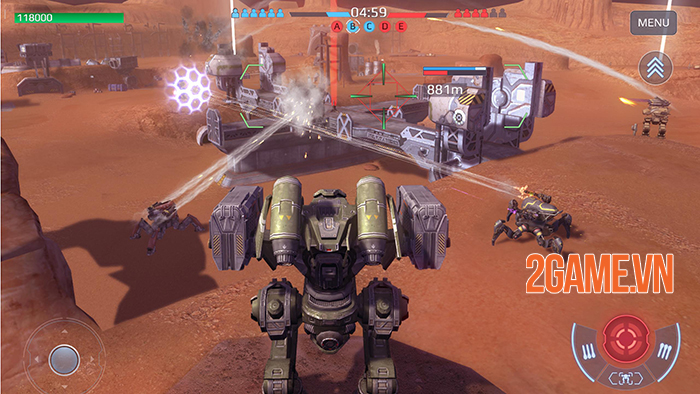 Cảm nhận game War Robots: Cuộc chiến của những chiến binh giáp sắt mạnh mẽ 3