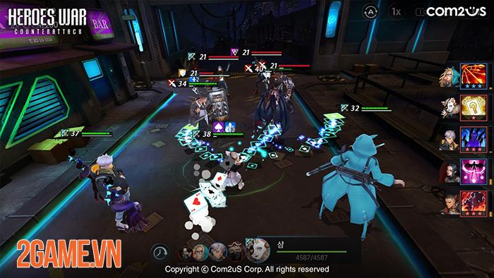 Heroes War: Counterattack sắp ra mắt phiên bản tiếng Việt 3