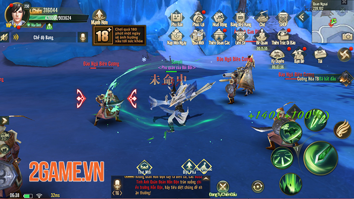 Ngự Kiếm Mobile đốn tim người chơi bằng hình ảnh đẹp, lối chơi nhập vai đa dạng 2