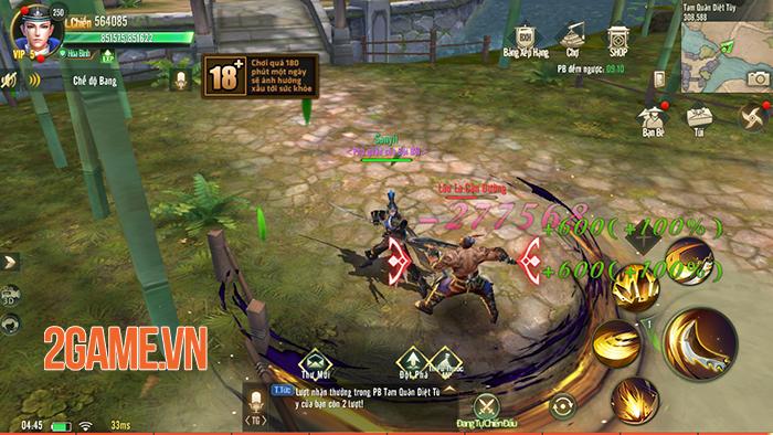 Ngự Kiếm Mobile đốn tim người chơi bằng hình ảnh đẹp, lối chơi nhập vai đa dạng 4