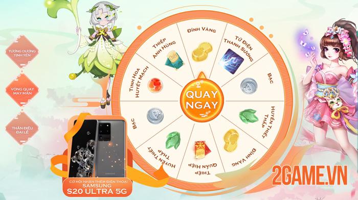 Tân Thần Điêu VNG tạo cơ hội nhận Samsung S20 Ultra cho tất cả người chơi 3