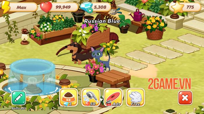 Hellopet House - Game quản lý thú cưng lồng ghép nhiều minigame thú vị 1
