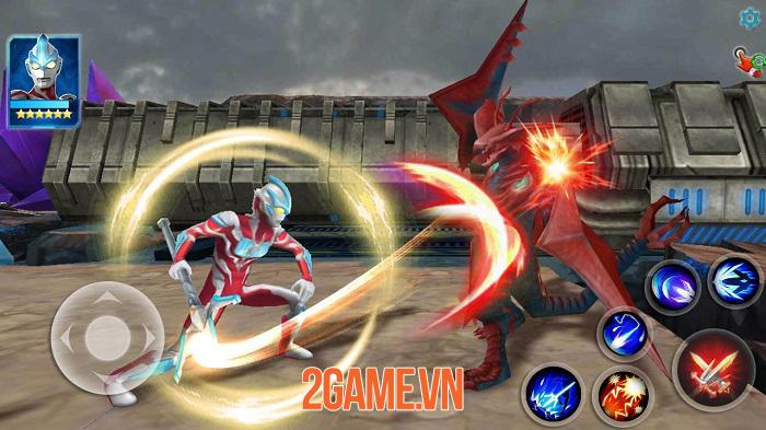 Ultraman: Legend of Heroes - Game được ủy quyền từ series giả tưởng kinh điển 1