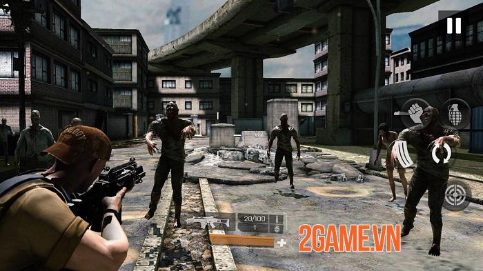 Zombie Gunfire - Cuộc chiến zombie với nhiều kiểu tấn công đa dạng 0