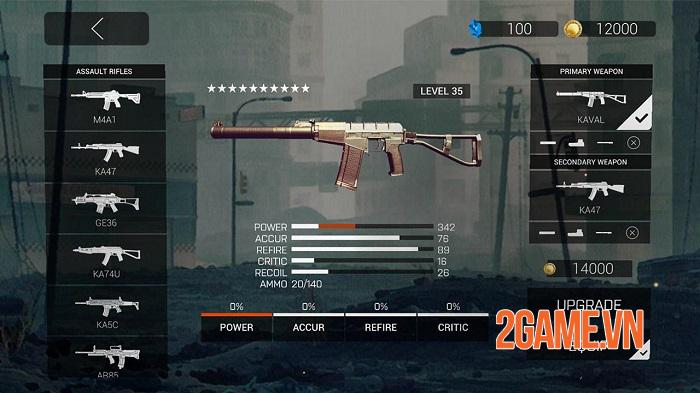 Zombie Gunfire - Cuộc chiến zombie với nhiều kiểu tấn công đa dạng 2