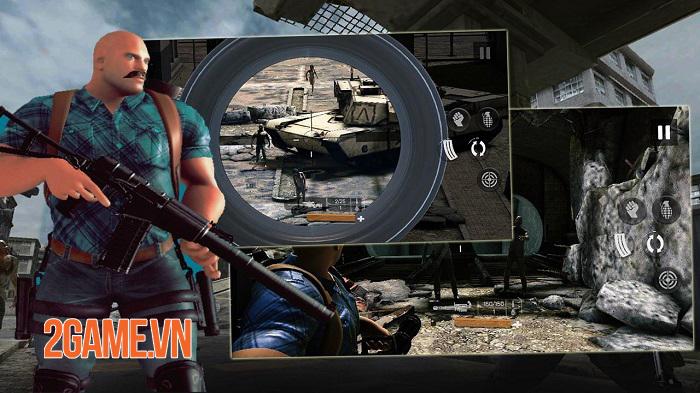 Zombie Gunfire - Cuộc chiến zombie với nhiều kiểu tấn công đa dạng 1