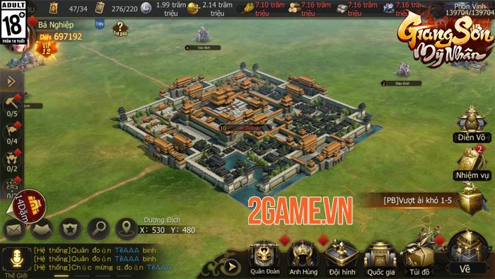 Game chiến thuật Giang Sơn Mỹ Nhân Mobile hẹn ra mắt vào tháng 5 4