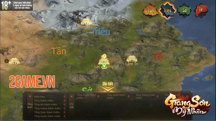 Game chiến thuật Giang Sơn Mỹ Nhân Mobile hẹn ra mắt vào tháng 5 1