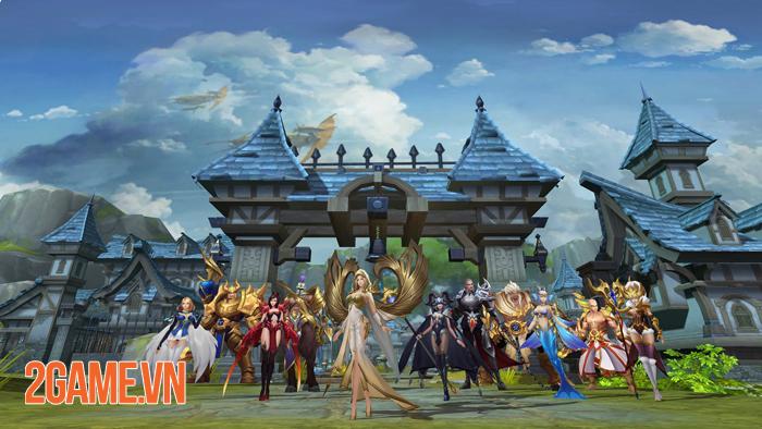 Game nhập vai Quỷ Kiếm 3D Mobile về Việt Nam 5
