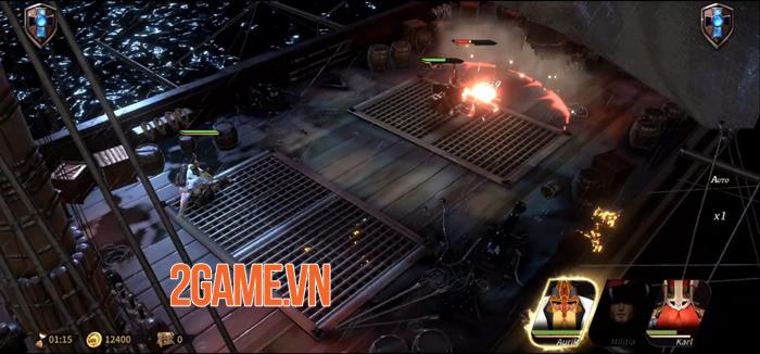 MagnumQuest - Game thẻ bài chiến thuật với thiết kế anh hùng độc đáo 1