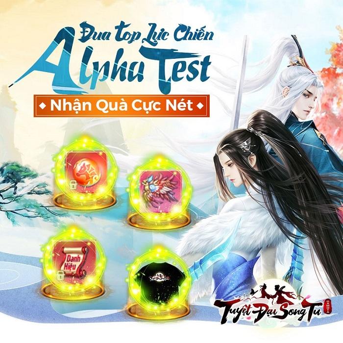 Tuyệt Đại Song Tu chính thức Alpha Test cùng chuỗi sự kiện đua TOP cực đỉnh 2