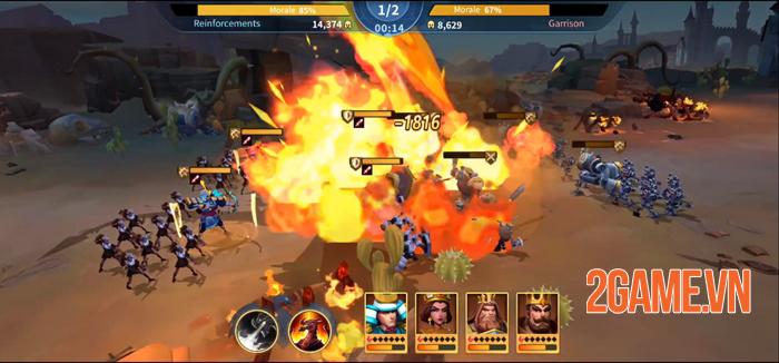 Top 8 game chiến thuật điều binh khiển tướng dành cho mobile 6