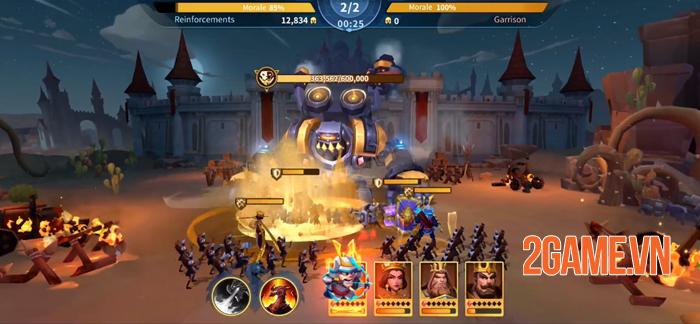 Infinity Kingdom - Game chiến thuật đồ họa 3D thế giới mở 4