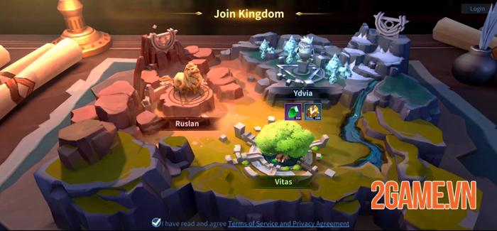 Infinity Kingdom - Game chiến thuật đồ họa 3D thế giới mở 1