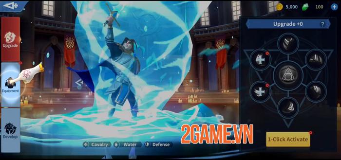 Infinity Kingdom - Game chiến thuật đồ họa 3D thế giới mở 2