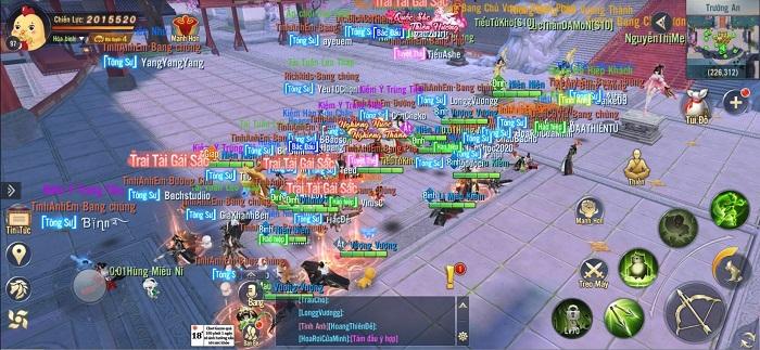 Cuộc đua top lực chiến Ngạo Kiếm 3D đang diễn ra vô cùng gay cấn! 1