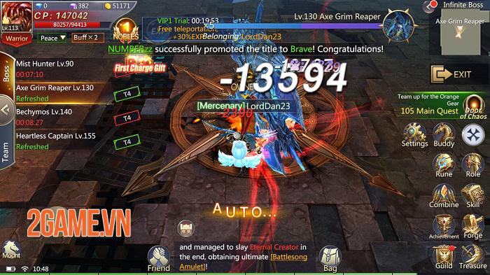 Land of Angel - MMORPG fantasy mang đến những trận PVP 50v50 hoành tráng 1