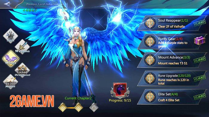 Land of Angel - MMORPG fantasy mang đến những trận PVP 50v50 hoành tráng 0
