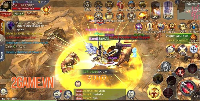 Land of Angel - MMORPG fantasy mang đến những trận PVP 50v50 hoành tráng 3