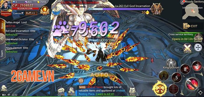 Land of Angel - MMORPG fantasy mang đến những trận PVP 50v50 hoành tráng 2