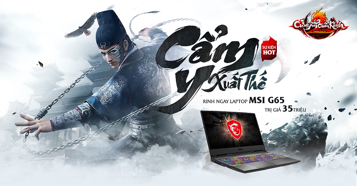Cửu Âm Chân Kinh Online trao giải thưởng khủng cho game thủ may mắn 0