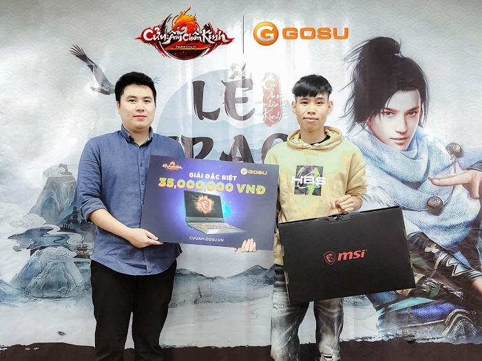 Cửu Âm Chân Kinh Online trao giải thưởng khủng cho game thủ may mắn 1