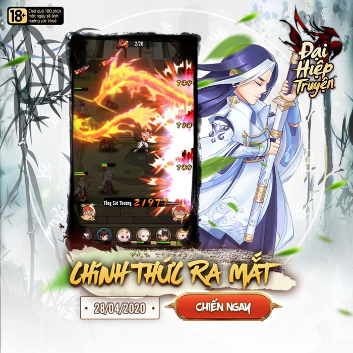 Tặng 999 giftcode game Đại Hiệp Truyện Mobile 0