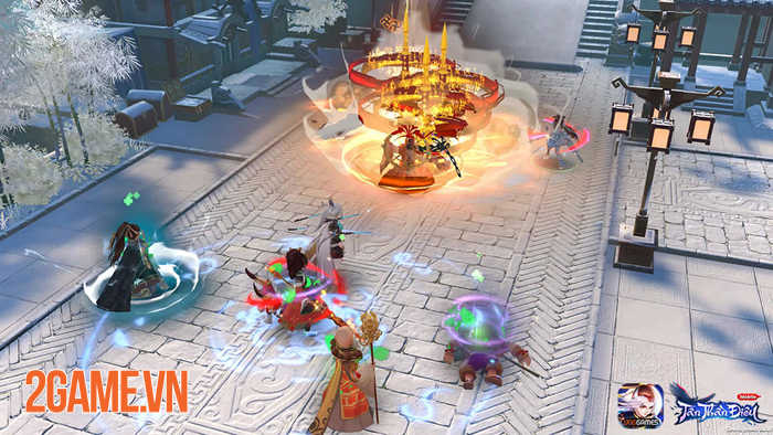 Tân Thần Điêu VNG - Game MMORPG đấu tướng mang màu sắc kiếm hiệp tình duyên độc đáo 3