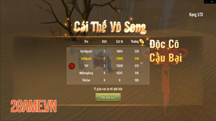 Tân Thiên Long Mobile VNG sắp cho người chơi chạy bo sinh tồn đầy dị biệt 6
